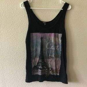 🌸3 for 15 SALE!🌸 G by Guess black tank top